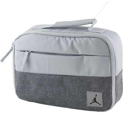 590fc48761d Nike Air Jordan Jumpman Soft School Insulated Lunch Tote Bag Box Platinum  Silver