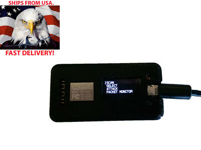 *NEW DEC18* WiFi JAMMER OLED Pre Installed Hacking Tool Deauth Attacks ESP8266