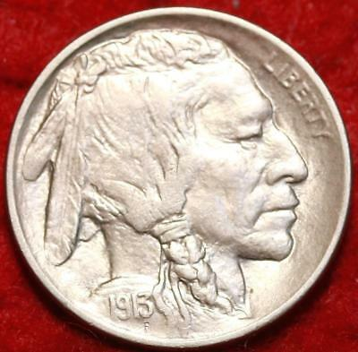 Uncirculated 1913 Type I Philadelphia Mint Buffalo Nickel