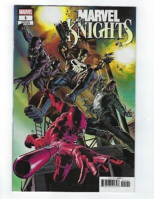 Marvel Knights 20th # 1 of 6 Deodato Teaser Variant Cover NM