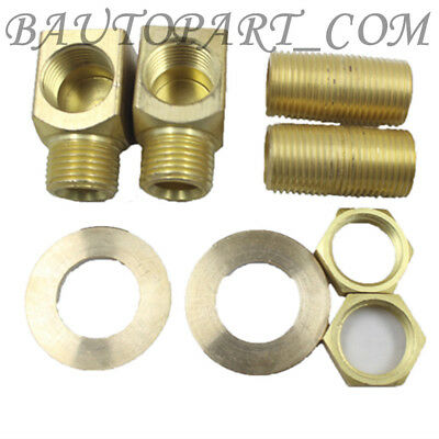 "1/2"" Short Elbow NPT Female x Male, Installation Kit for B-0230-Style Faucets"