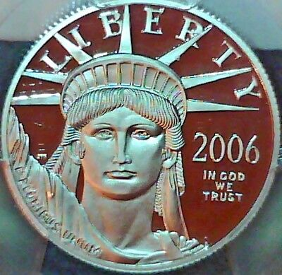 2006-W Statue Of Liberty Half Ounce Platinum $50 PCGS PR-69 Deep Cameo