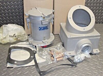 NEW Cooper Crouse Hinds AREA20416 Receptacle Assembly 200 Amp 4 Pole 4 W 600 V