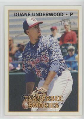 Verzamelkaarten: sport 2011 Heritage SP HIGH #215 BRETT JACKSON Tennessee Smokies Minor League Honkbal