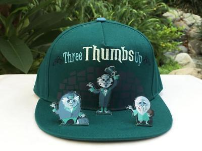 Disney Parks Haunted Mansion Hitchhiking Ghosts Pop Up Three Thumbs Up Cap Hat