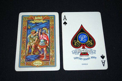 Vintage Park Lane Apartments Playing Cards Tapestry Dining  Room