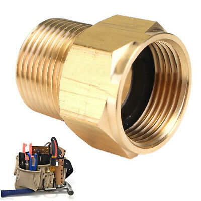 M22 Male * M22 Female Hose Coupling Brass Adapter For HD HDS Pressure Washer US