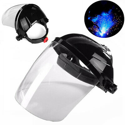 Safety Face Shield Full Mask Glasses Eye Protection Welding Grinding Mask Helmet