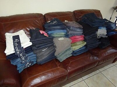 Lot WHOLESALE ~ STORE CLOSING ~ New VERSACE & ASSORTED WOMENS PANTS JEANS     AG