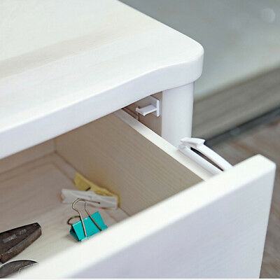 Invisible Latch Locks Baby Safety Cabinet Door Lock Drawer Kids Protection S