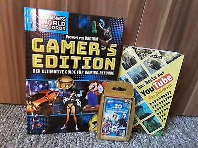 Gamers Edition Youtube Jahrbuch Gamingrekorde Guiness World Records