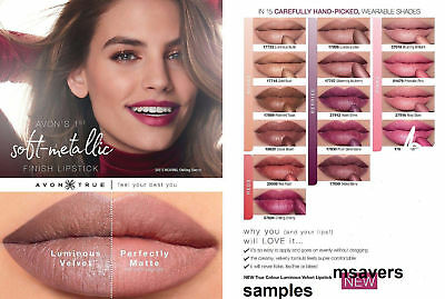 Avon True Colour Luminous Velvet Samples New Ideal For Party Filler /Travel