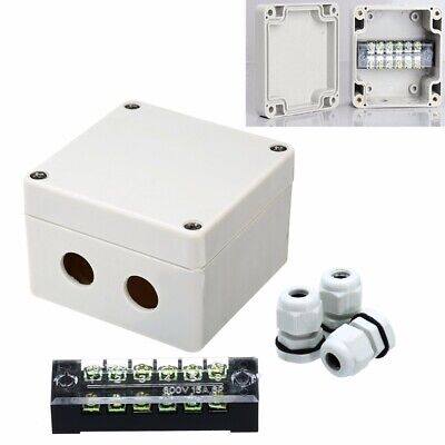 Excellent Waterproof Enclosure Electrical Junction Box Connector Terminal Wire Wiring 101 Xrenketaxxcnl