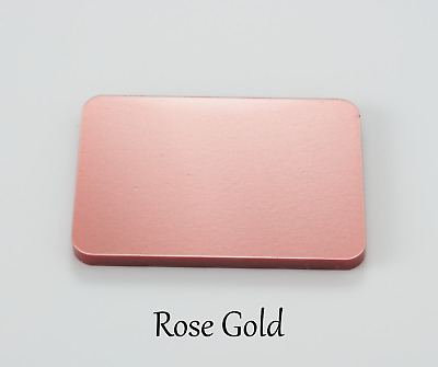 ROSE GOLD ACRYLIC PLASTIC SHEETS PERSPEX in 3mm thick