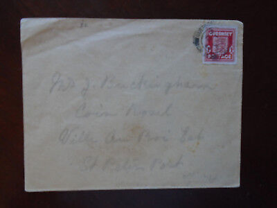 Guernsey WWII 1944 German occupation cover