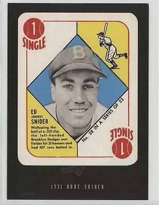 2016 Topps Anthology 5x7/499 #1951-38 Duke Snider Brooklyn Dodgers Baseball Card