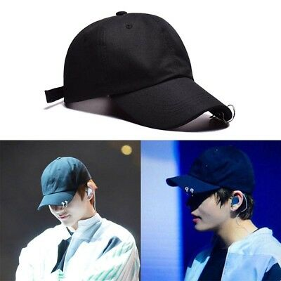 Women Men Unisex KPOP BTS LIVE THE WINGS TOUR Hat Bangtan Boys Ring Baseball Cap