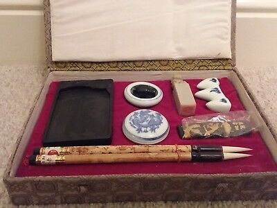 Authentic Chinese Caligraphy set