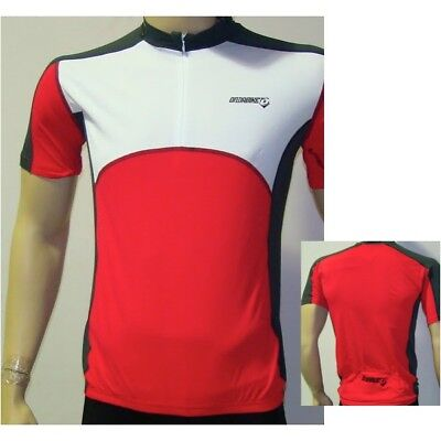 Maillot Junior M.Courtes ONDABIKE ZIP JERSEY Rouge taille 14ans