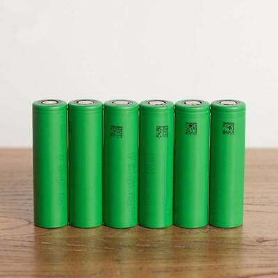 3.7v 2pcs Rechargeable Sony VTC6 18650 High Drain Replacement Li-ion Batteries