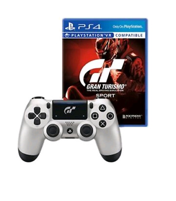 Sony PS4 PlayStation 4 Gran Turismo Sport + PS4 Wireless Dual Shock Controller