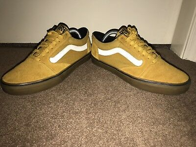 a8fb7bab5e04 MENS VANS OFF The Wall Mustard Tnt Shoes Old Skool Uk 9 Used Yellow ...