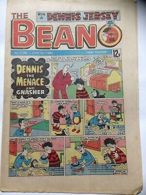 DC Thompson THE BEANO Comic. Issue 2186 June 9th 1984 **Free UK Postage**
