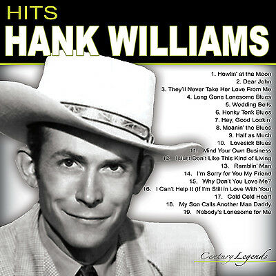 HANK WILLIAMS New Sealed BEST OF & MORE CD