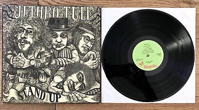 Jethro Tull, Stand Up, Chrysalis Records Chr1042, Gimmix-Cover, Near Mint