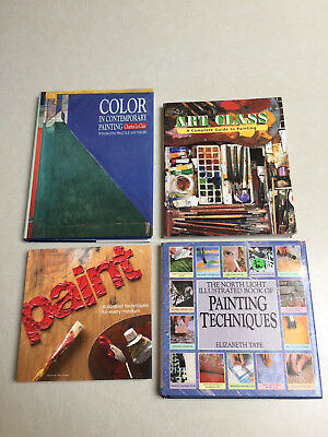 Lot of Four Artist's Techniques and Instructional Books - PRICE REDUCED