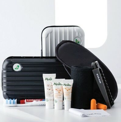 Eva Air First Class Rimowa Amenity Kit - Pearl White Amenity Storage Bag