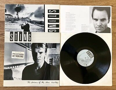 Sting, The Dream Of The Blue Turtles, A&m Records 393750-1, Plus Maxi 4 Tracks