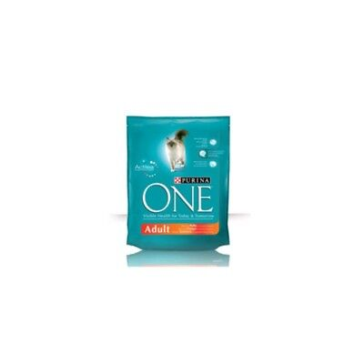 Purina 5120495 One Cat Adult - Crocchette Gatto, Pollo e Riso, 800 gr - #0932