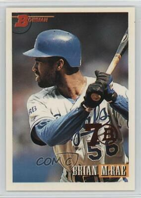 1993 Bowman 704 Hal Mcrae Brian Kansas City Royals Baseball