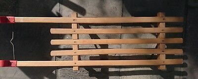 Vintage West German Davoser Gloco wooden Sledge