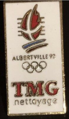3 PIN'S OLympic Olympique SPONSOR 1992  Alberville