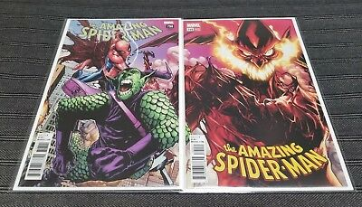 Amazing Spider-man #798 & #799 Ramos Connecting Covers 1st App of Red Goblin