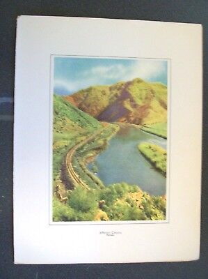 Cmstp&p Rr - Milwaukee Road - Along The Olympian Trail Promo Jefferson Canyon #3