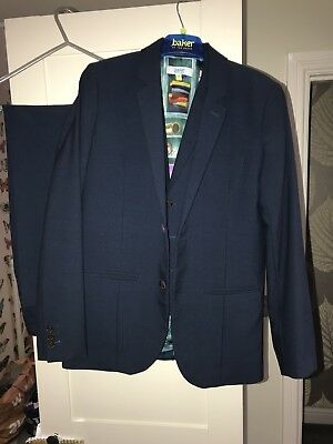 Boys Ted Baker Age 13 3 Piece Suit