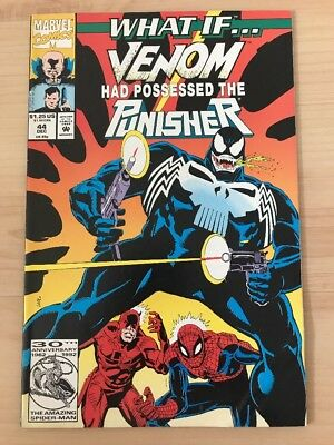 What if #44 Venom had possessed the Punisher VF+ Marvel Comics