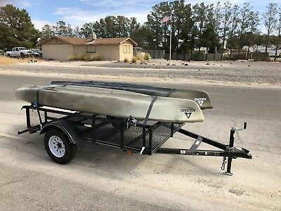 12ft Ascend FS12T Kayaks With Trailer