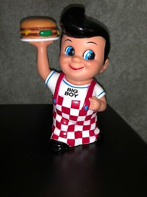 """1999 Big Boy Plastic Bank, 9"""" tall Excellent condition"""