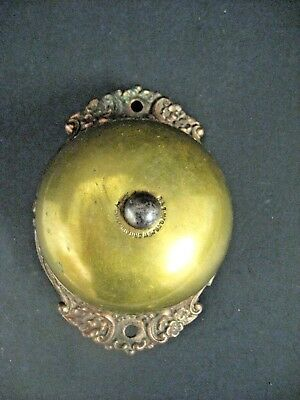 Antique Victorian 1800'S Door Bell Store Bell R&E MFC New Britain CT. USA 1893