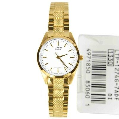 Casio Women's LTP-1274G-7A Classic Gold-Tone Stainless Steel Dress/Casual Watch