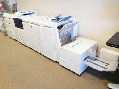 Xerox Color J75 Press Fiery, Booklet, Decurler, Trimmer, Punch, Finisher