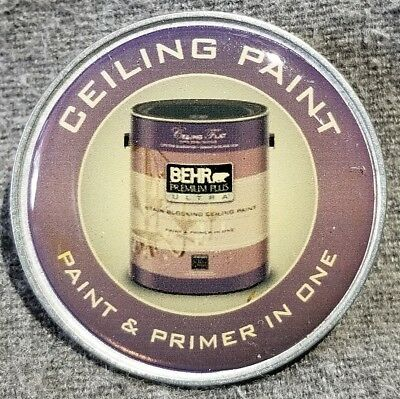 LMH PINBACK Pin HOME DEPOT Employee BEHR CEILING PAINT Primer in One 1-1/2""