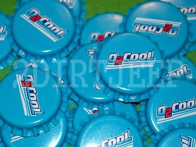 25 O 2 Cool O Two Cool Flavor Soda Real Pop Vintage Old Unused P/l Bottle Caps C