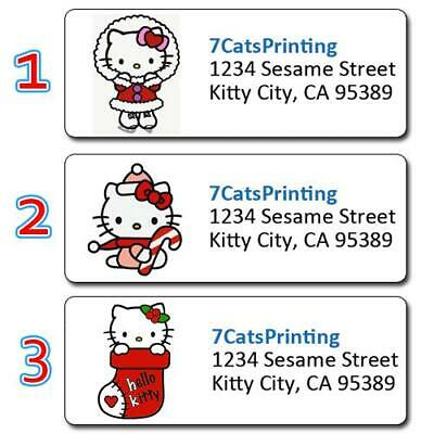 christmas candy cane 154 laser return address labels 2 15 picclick