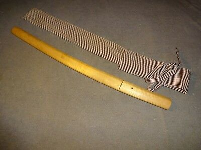 K12 Japanese sword wakizashi in shirosaya mountings, full polish, mint