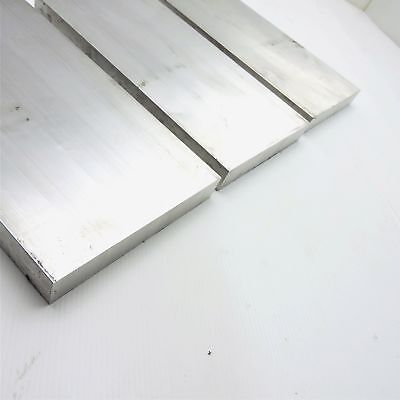 "1"" x 6"" Aluminum 6061 FLAT BAR 21"" Long new mill stock QTY 3 sku M436"